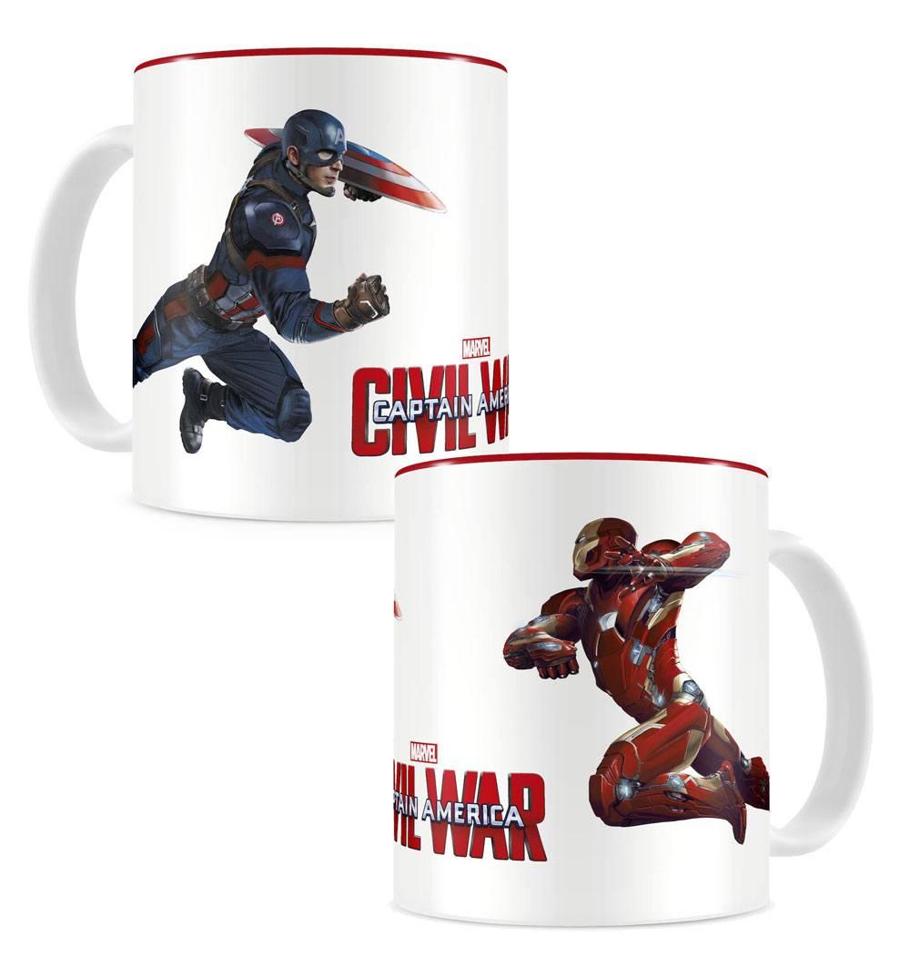 Captain America Civil War Mug Duel