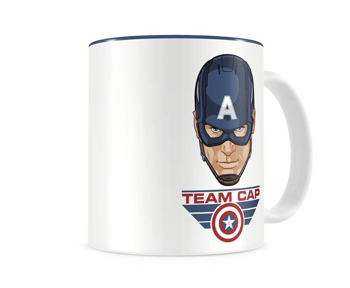 Captain America Civil War Mug Team Cap