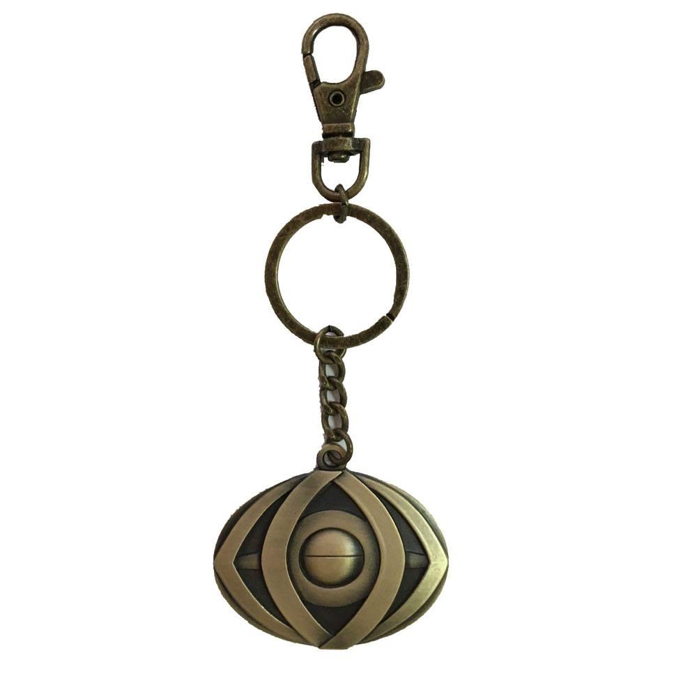 Doctor Strange Metal Keychain Eye of Agamotto