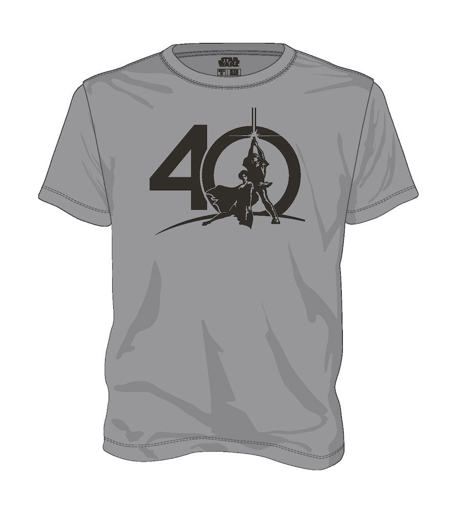 Star Wars T-Shirt 40th Anniversary  Size M
