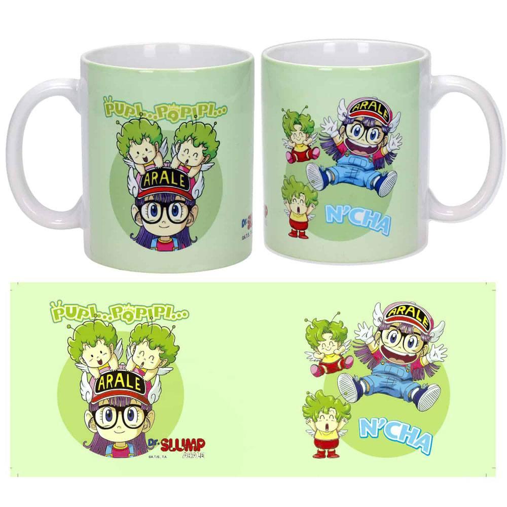 Dr. Slump Mug Arale & Gatchans