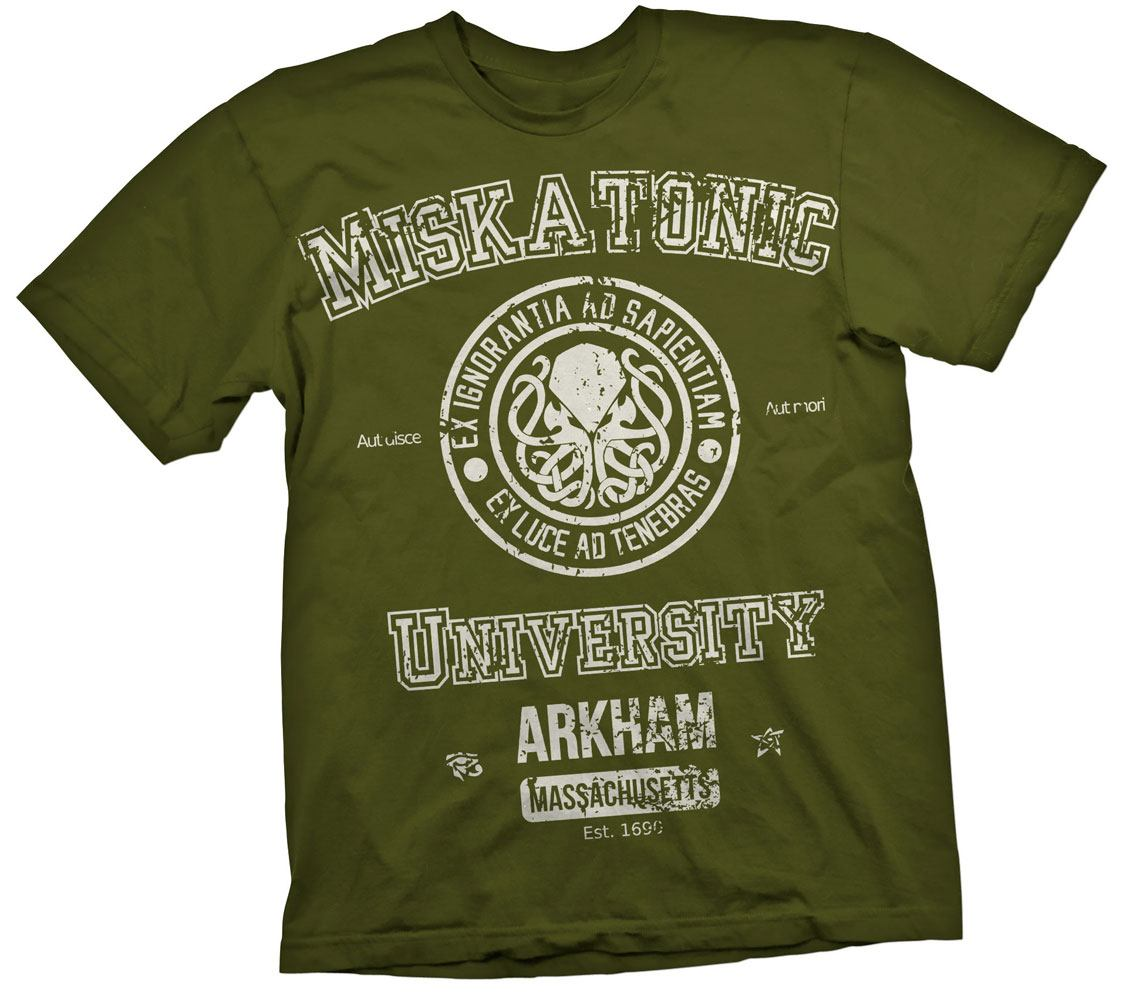Cthulhu T-Shirt Miskatonic Size S