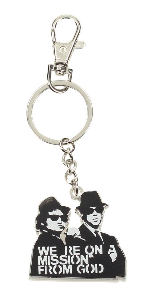Blues Brothers Metal Keychain Mission 7 cm