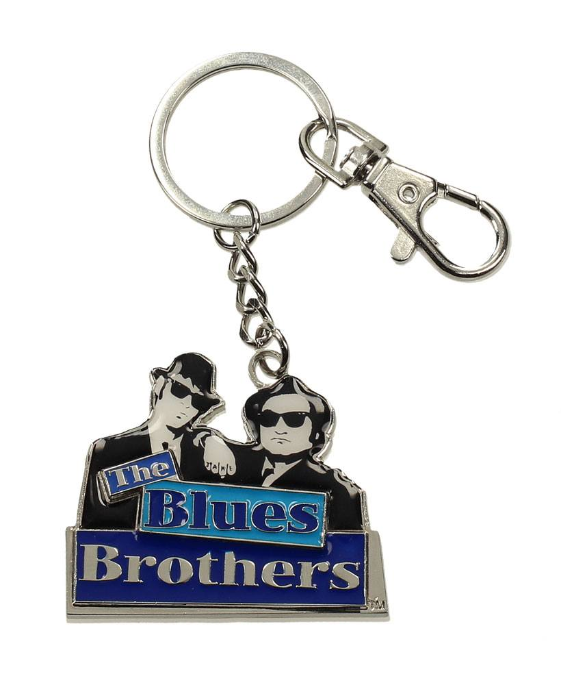 Blues Brothers Metal Keychain Silhouettes Logo 7 cm