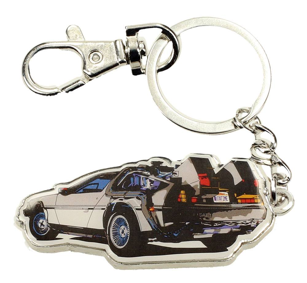 Back to the Future Metal Keychain Time Machine 7 cm