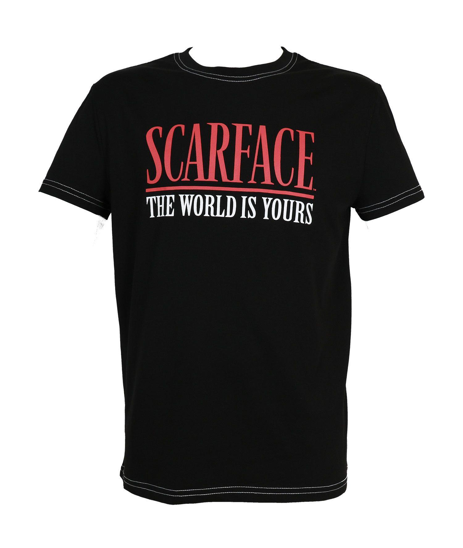 Scarface T-Shirt Logo Size XXL
