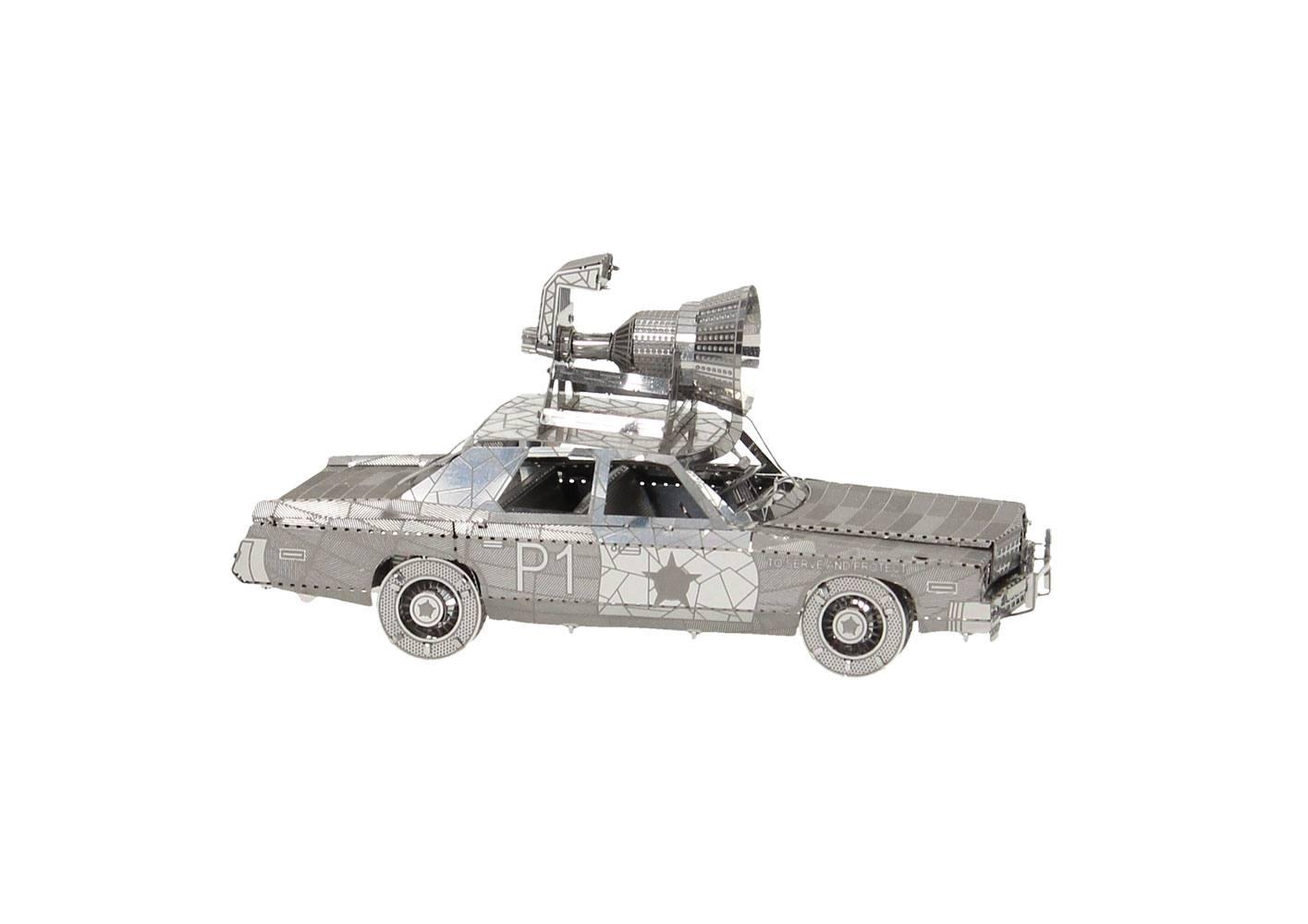 Blues Brothers Metal Model Kit Bluesmobile 10 cm