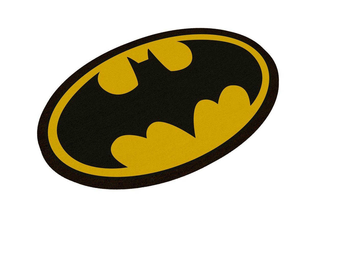 DC Comics Doormat Batman Logo Oval-Shaped 50 x 70 cm