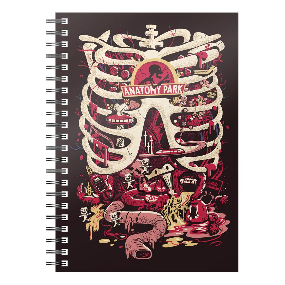 SD Toys Rick & Morty Notebook Anatomy Park