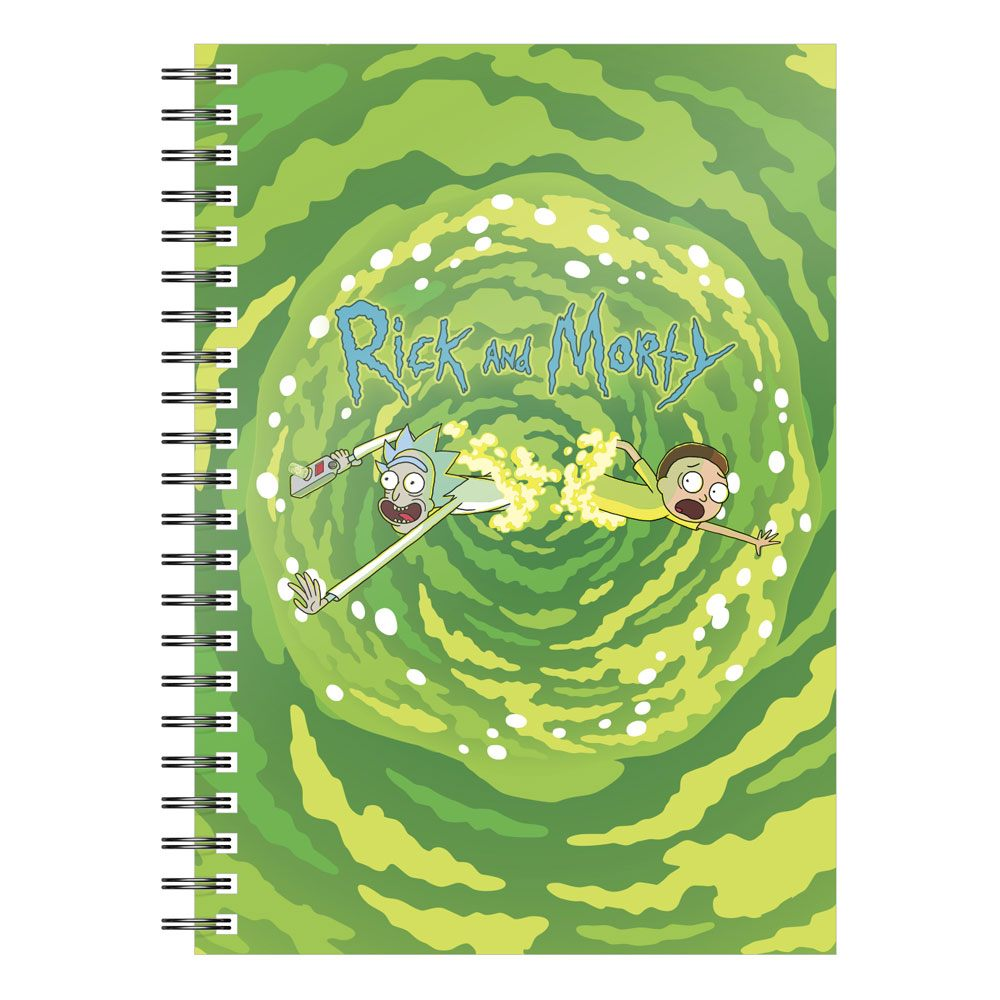 SD Toys Rick & Morty Notebook Logo Portal