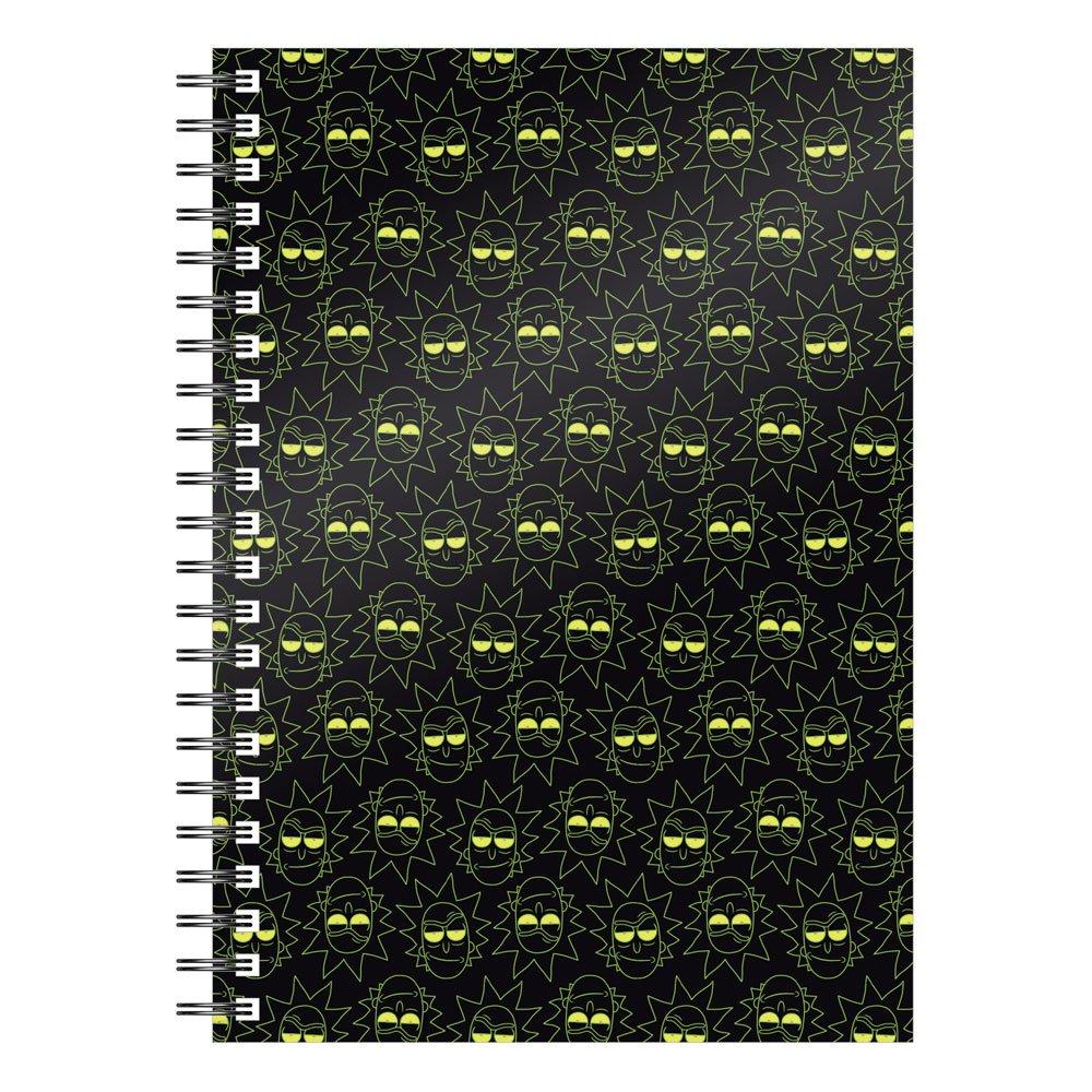 SD Toys Rick & Morty Notebook Rick Pattern