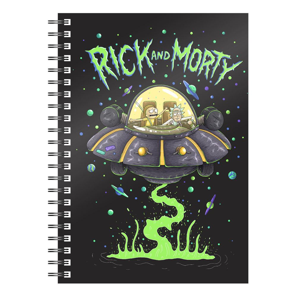 SD Toys Rick & Morty Notebook Space Ship