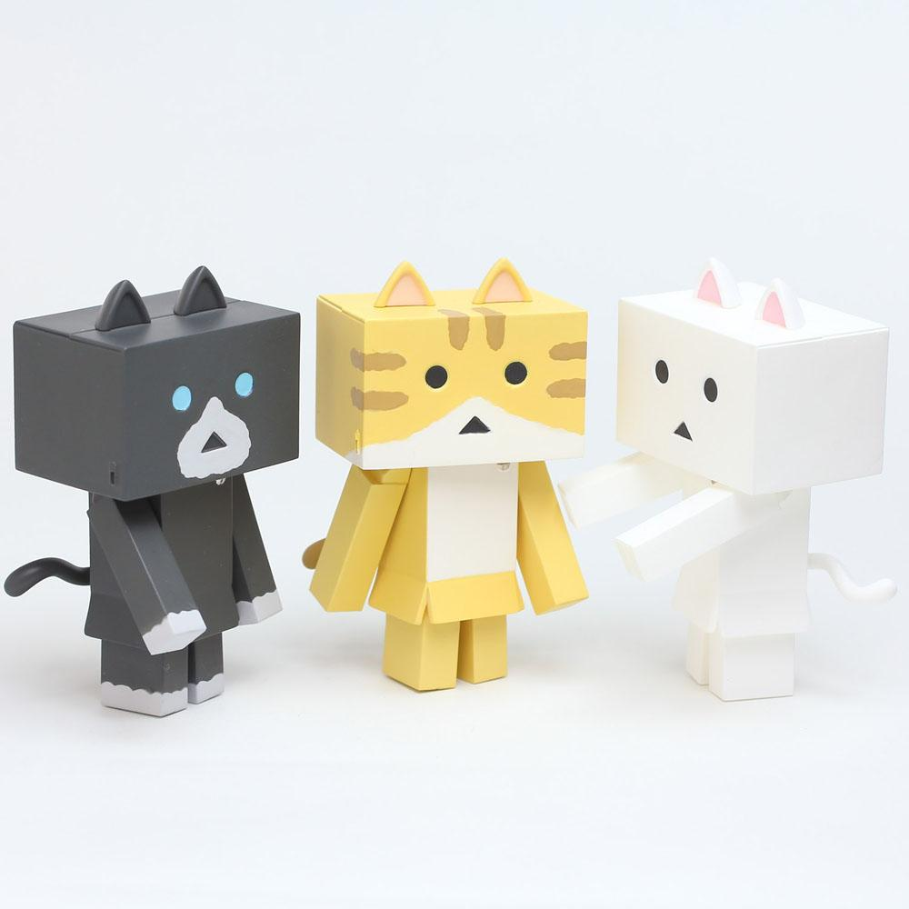 Yotsubato! Mini Figures 6 cm Nyanboard 3-Pack Sweet Set 1
