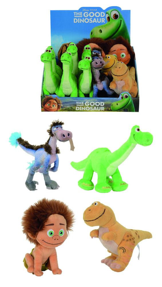 The Good Dinosaur Plush Figures 17 cm Display (12)