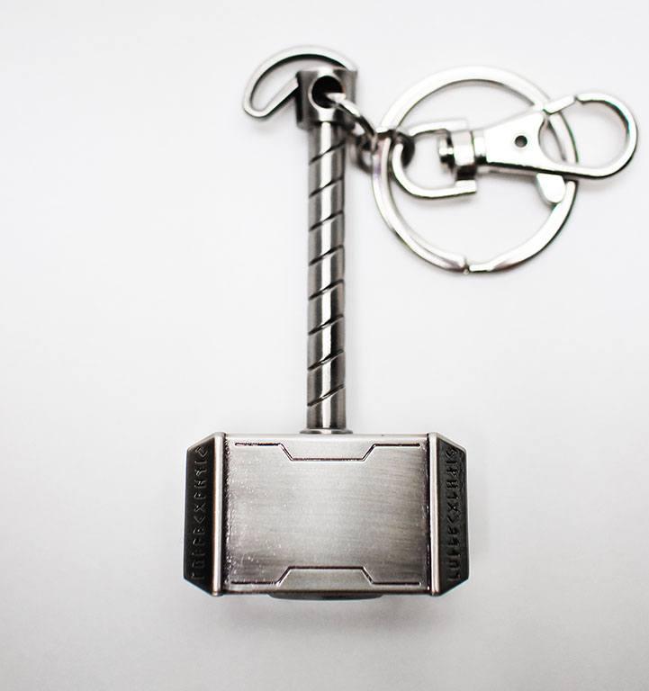 Marvel Comics Metal Keychain Thor Hammer