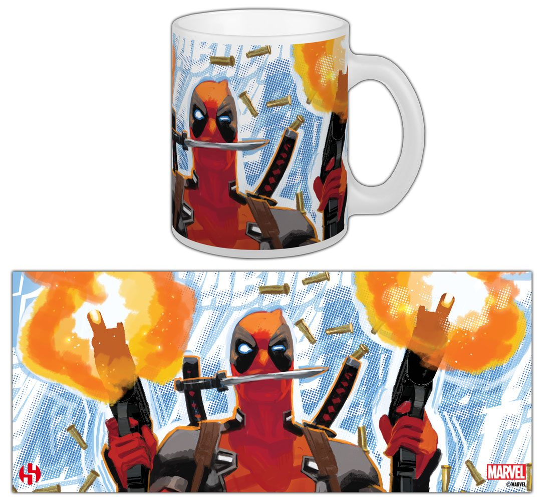 Marvel Comics Mug Deadpool Guerilla