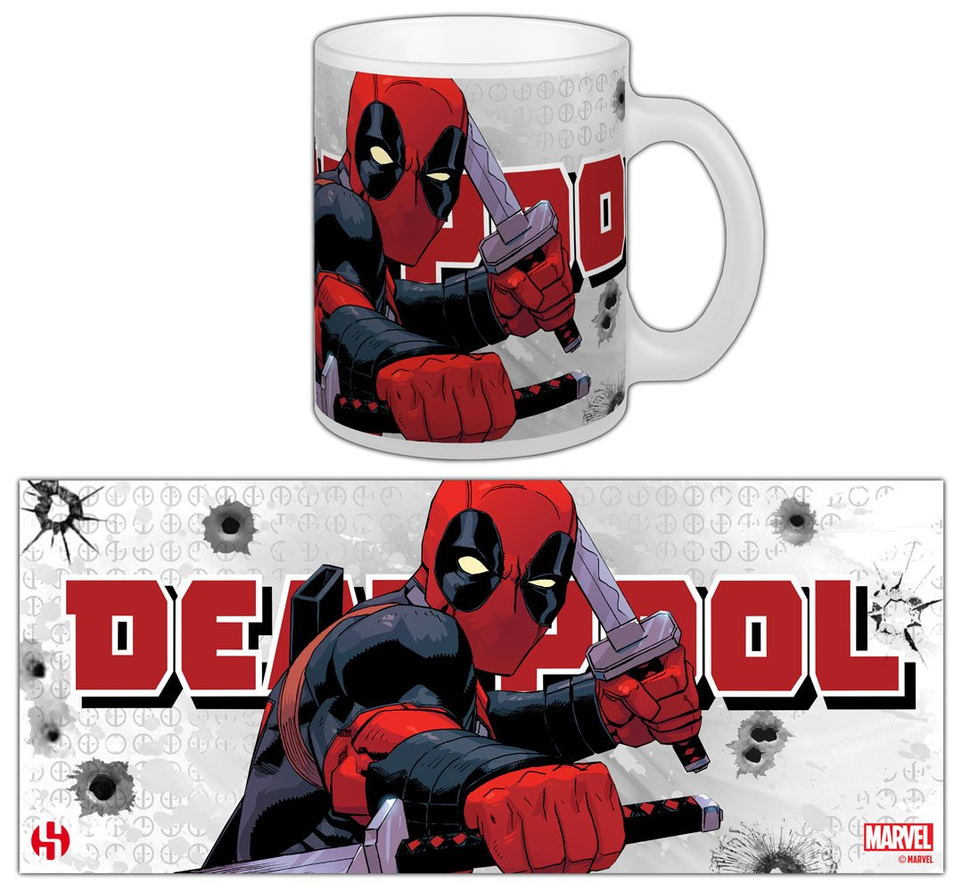 Marvel Comics Mug Deadpool Katana Rama
