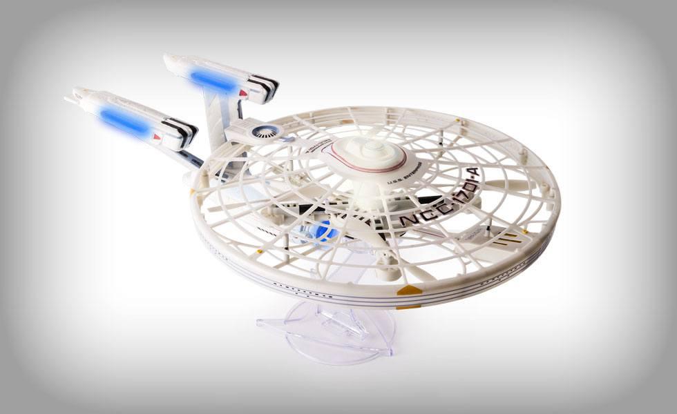 Star Trek Air Hogs R/C Spaceship U.S.S Enterprise NCC-1701-A