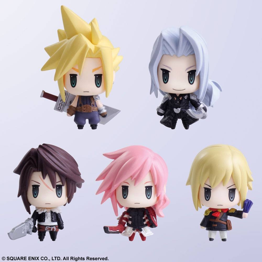 Final Fantasy Trading Arts Mini Figures 5 cm Vol. 1 Assortment (6)