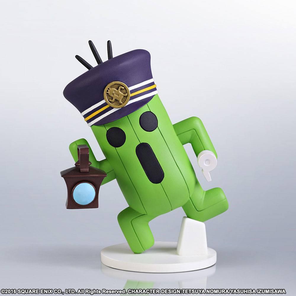 World of Final Fantasy Static Arts Mini Cactuar Conductor 10 cm