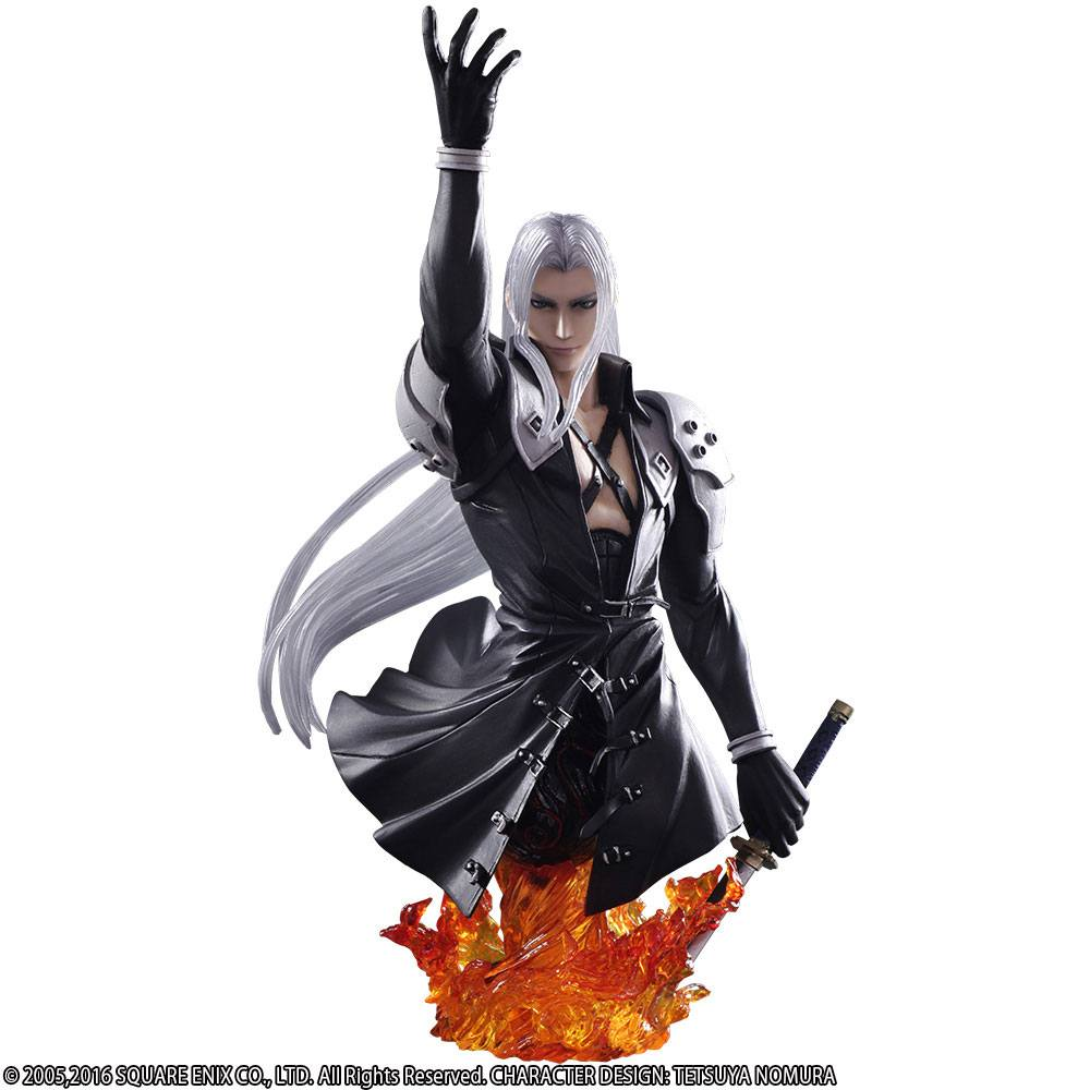 Final Fantasy VII Static Arts Bust Sephiroth 19 cm