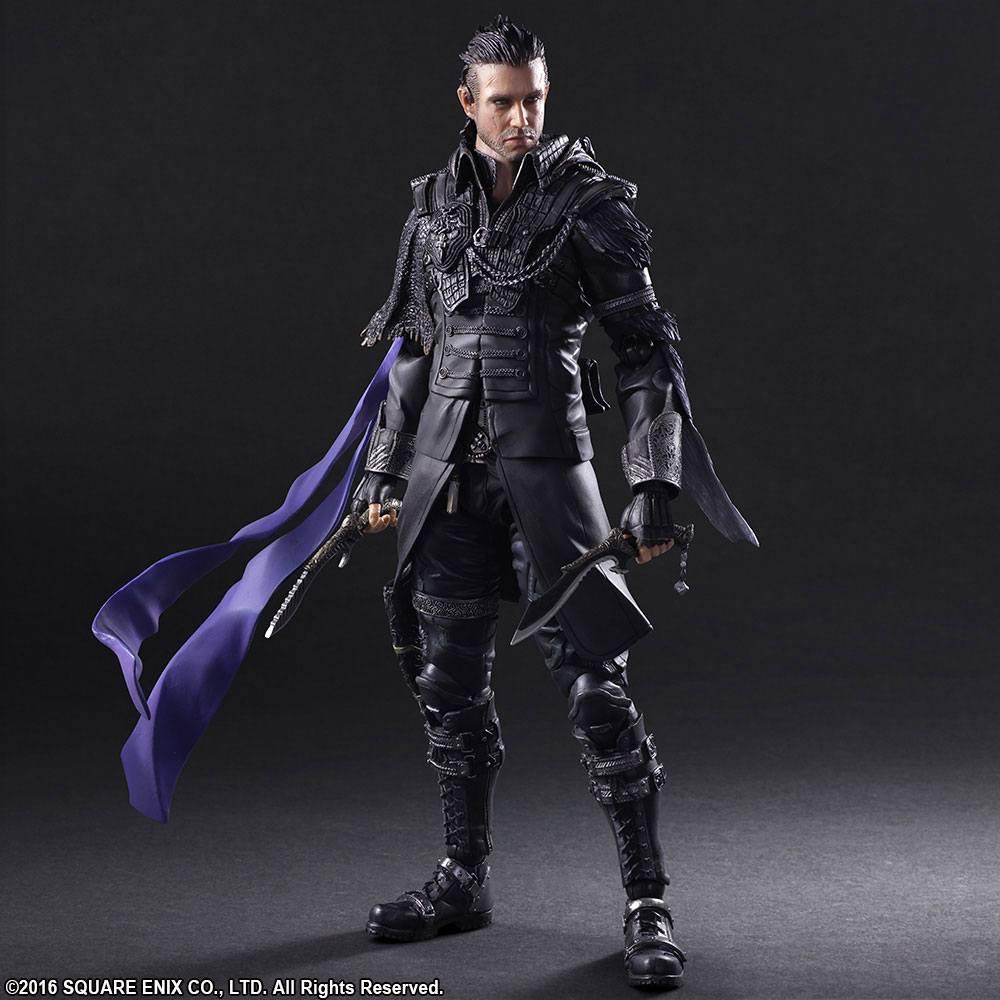 Kingsglaive Final Fantasy XV Play Arts Kai Action Figure Nyx Ulric 27 cm
