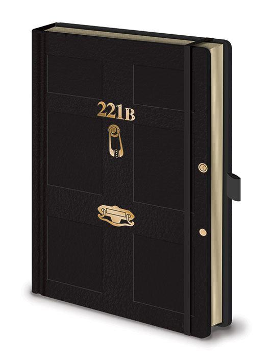 Sherlock Premium Notebook A5 221B