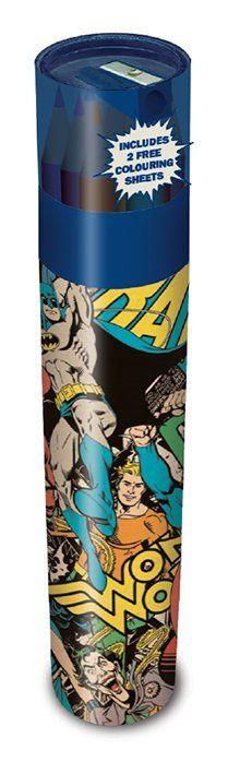 DC Originals Coloured Pencil 12-Pack Montage