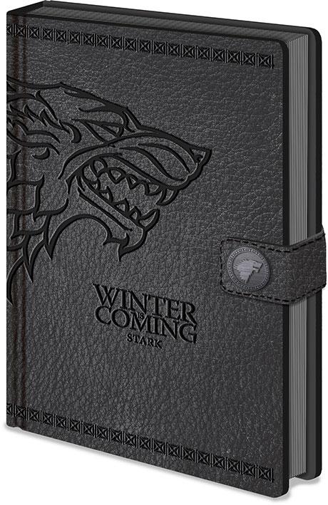 Game of Thrones Premium Notebook A5 Stark