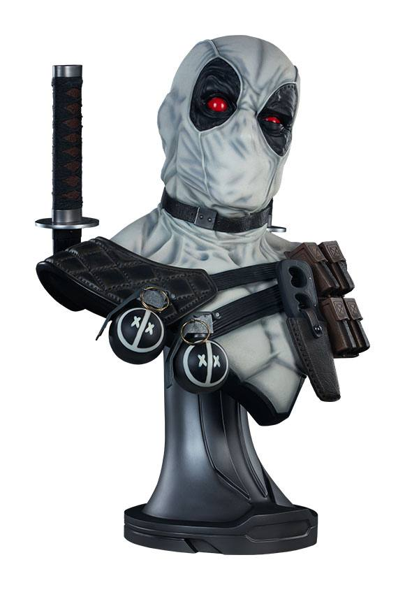 Deadpool X-Force Exclusive Lifesize 1/1 Bust by Sideshow Collectibles