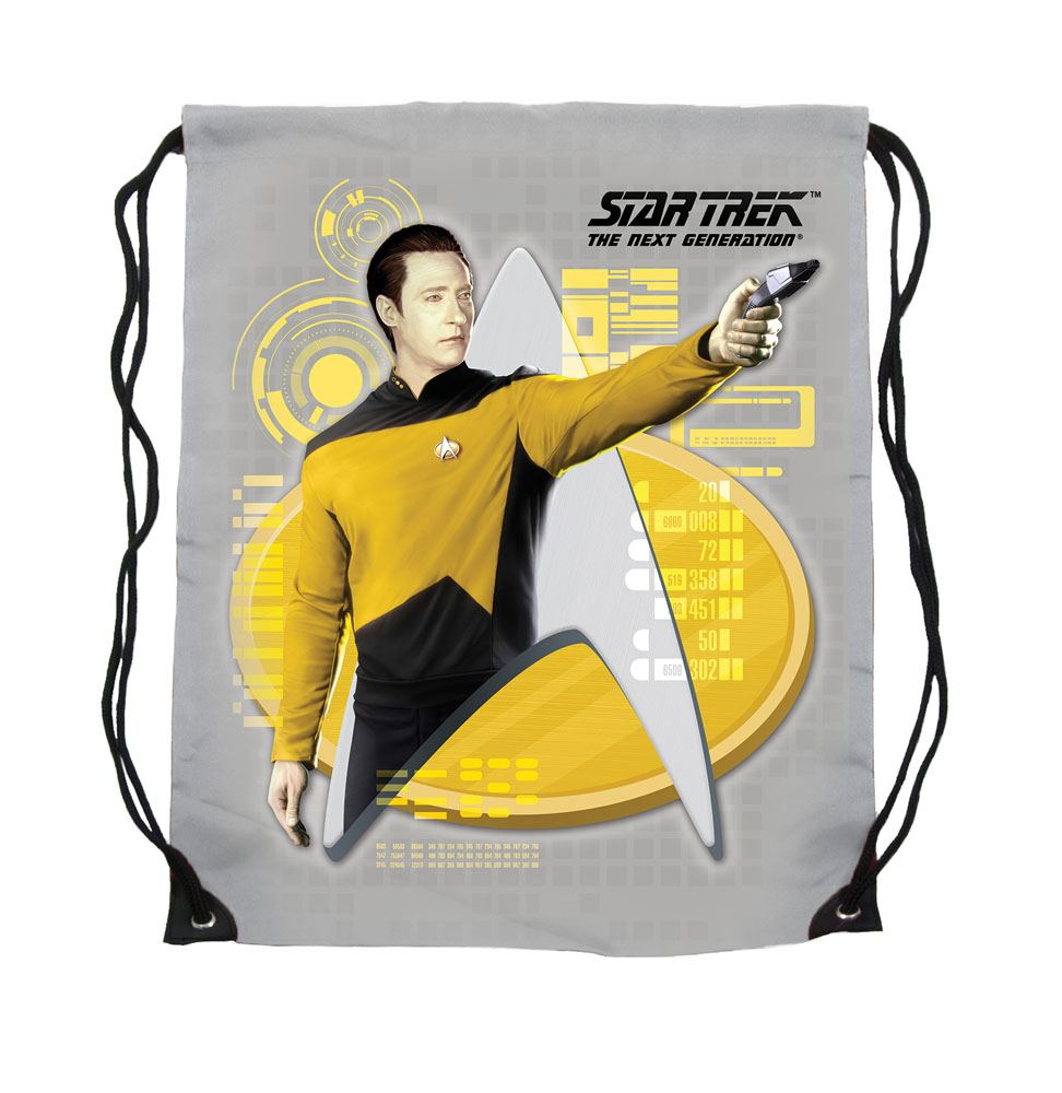 Star Trek Cinch Bag Lt. Commander Data