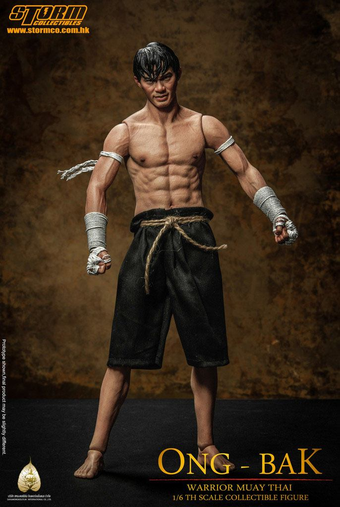 Ong-Bak Action Figure 1/6 The Thai Warrior Ting Tony Jaa 30 cm