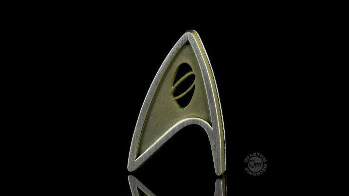 Star Trek Beyond Replica 1/1 Magnetic Starfleet Science Division Badge