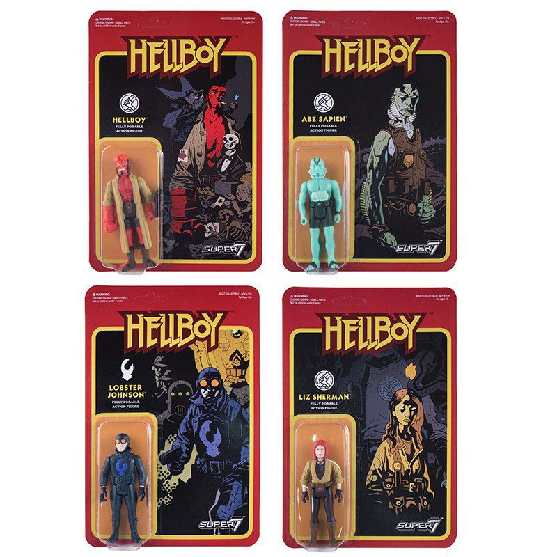 Hellboy ReAction Action Figures 10 cm Wave 1 Assortment (4)