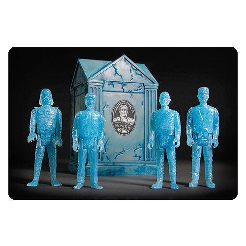 Universal Monsters ReAction Action Figure 4-Pack Blue Glow SDCC 2015 Exclusive 10 cm