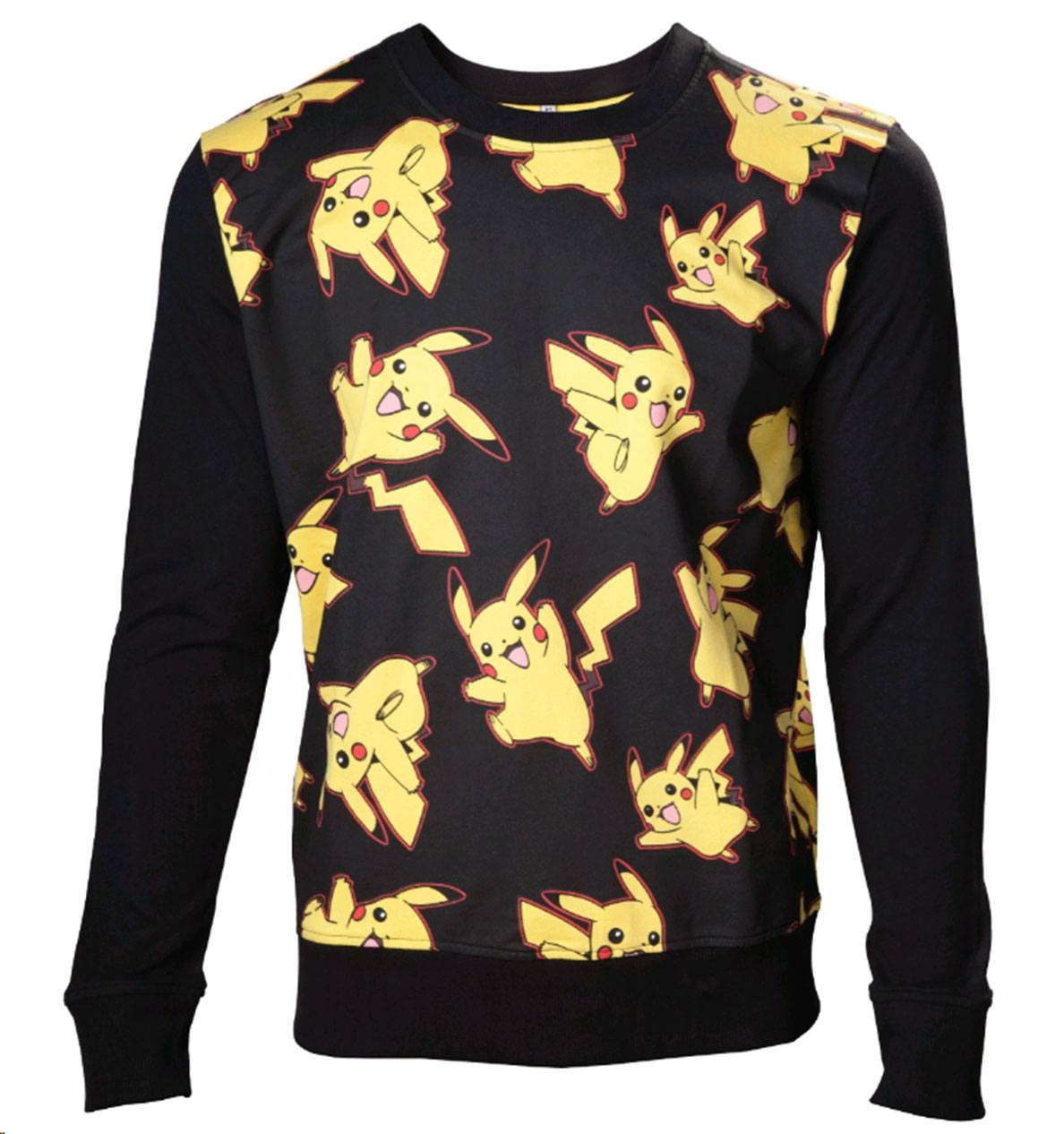 Pokemon Sweater Pikachu All Over Size L