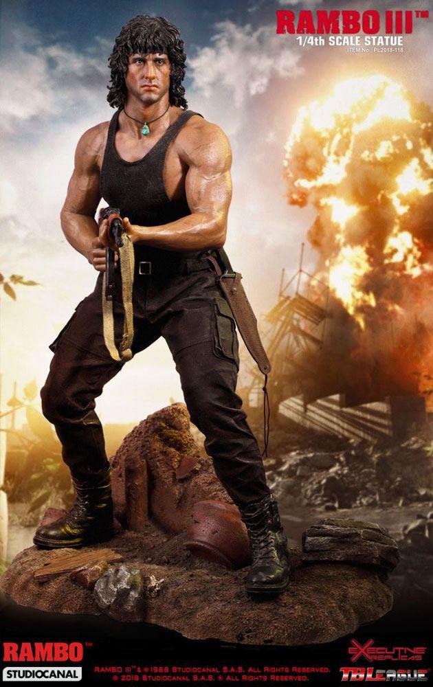 Rambo III Premium Statue 1/4 Rambo 46 cm