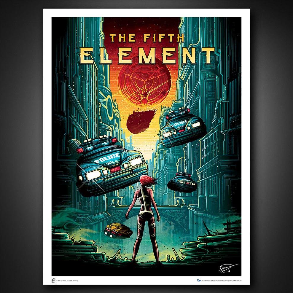 The Fifth Element Art Print Dan Mumford 68 x 101 cm