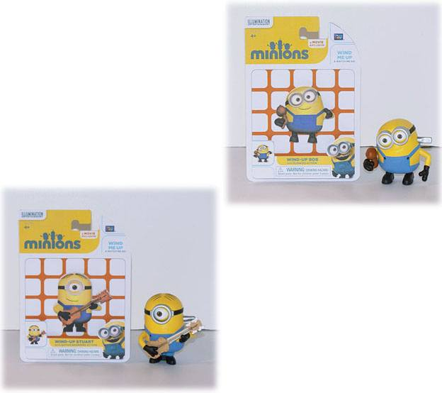 Minions Wind-Up Figures Assortment (6)