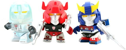 Transformers Action Vinyl Figures SDCC 2014 3-Pack Autobot 8 cm