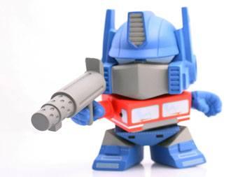 Transformers Action Vinyl Figure with sound Optimus Prime 14 cm