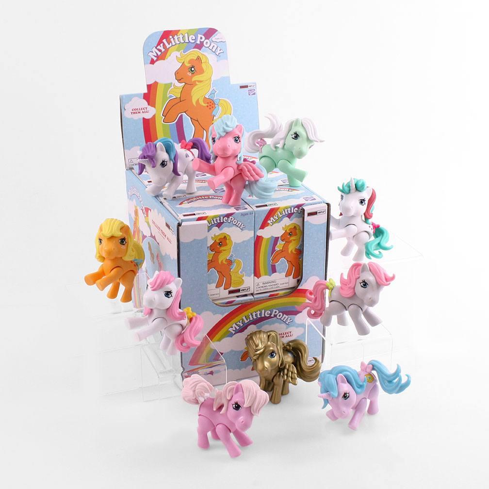 My little Pony Action Vinyl Mini Figures 8 cm Wave 1 Display (12)