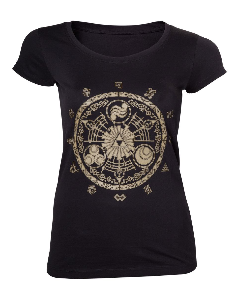 The Legend of Zelda Ladies T-Shirt Gate of Time Size M