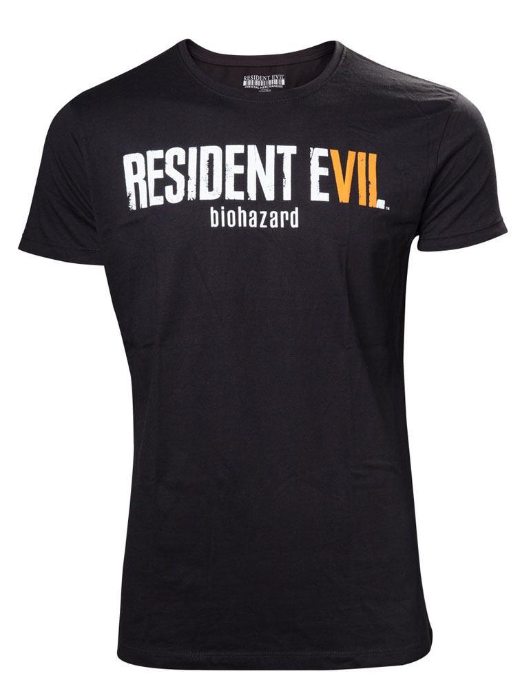 Resident Evil T-Shirt Biohazard Logo Size L