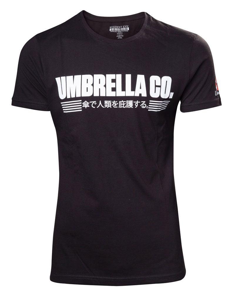 Resident Evil T-Shirt Umbrella Company Japanese Size L