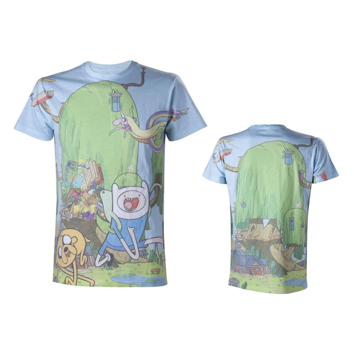 Adventure Time T-Shirt Sublimation Size M
