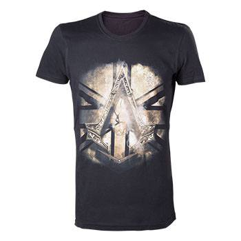 Assassin's Creed Syndicate T-Shirt Bronze Crest Size XL