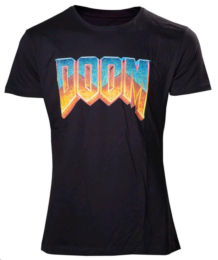 Doom T-Shirt Vintage Logo Size XL