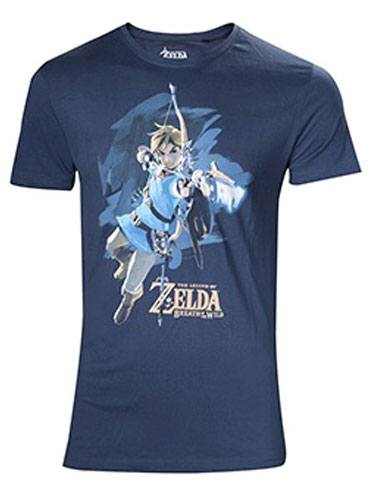 The Legend of Zelda Breath of the Wild T-Shirt Link with Arrow Size XL