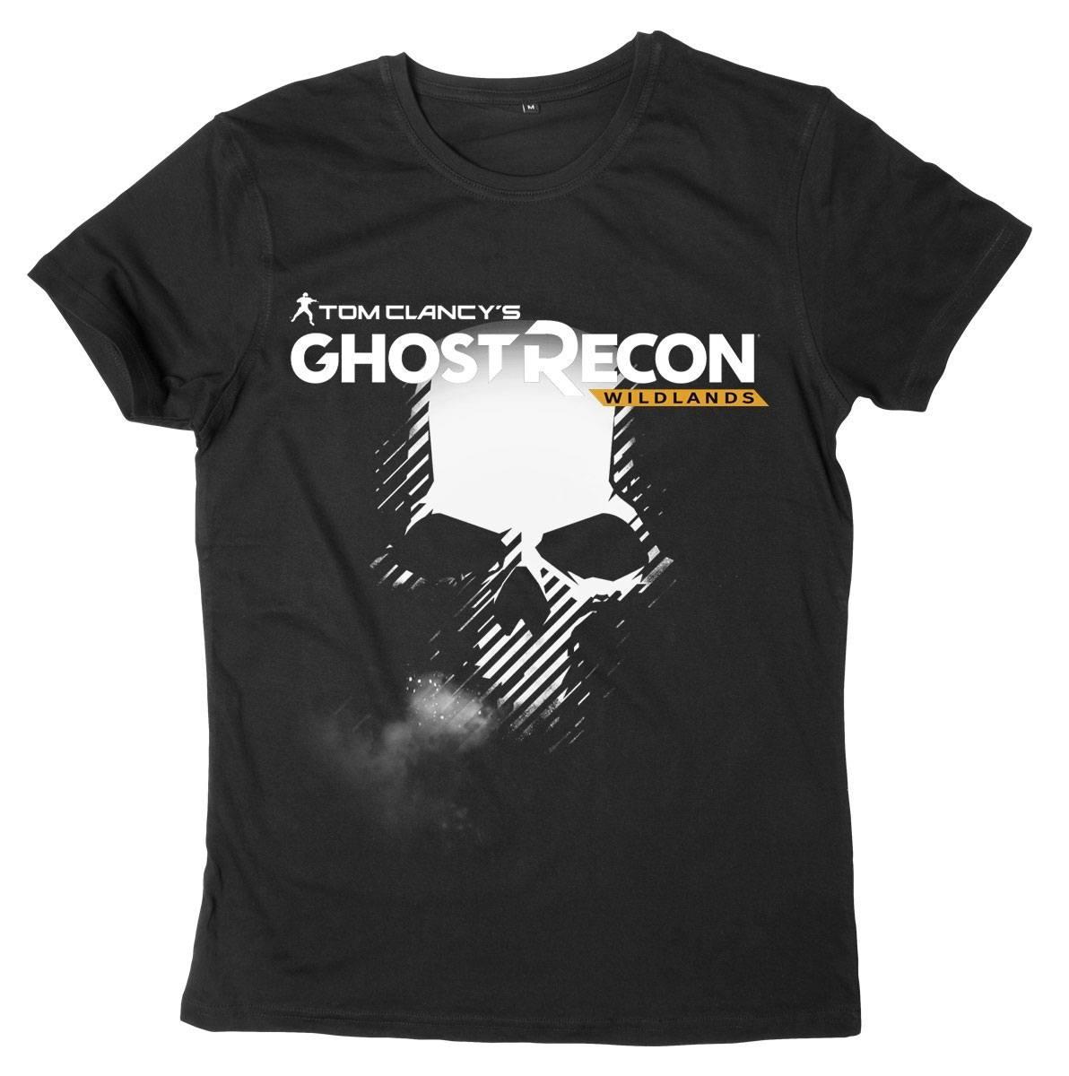 Ghost Recon Wildlands T-Shirt Skull & Logo Size XXL
